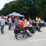 Hvězda láká na pestrý program vozíčkáře i choďáky