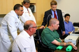 Man is first to move paralyzed hand with his own thoughts