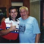 Jeff Baker s Vítkem Fománkem