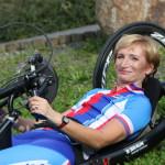 Kateřina Antošová reprezentantka vparacyklistice