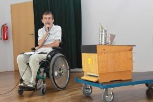 Jaromír Krpálek obhahuje záměr CAA na burze filantropie FOTO 1