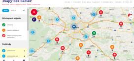 """""""Mapy bez bariér"""" usnadní plánování výletů a dovolených"""