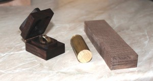 prsten a krabička
